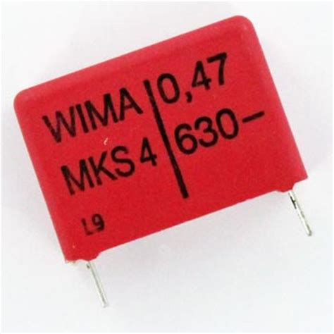 0 47 uf capacitor code 0 47uf 630v radial polyester box capacitor mks4 0 47 630 10 wima west florida components