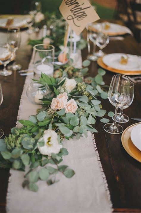 table centerpieces photos rustic malibu wedding at saddlerock ranch wedding