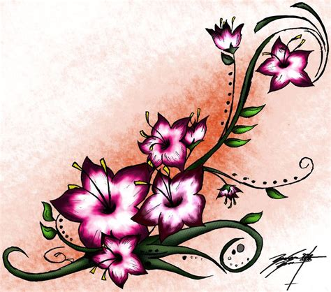lsd tattoo design cherry blossom henna 2 by lsd forthemasses