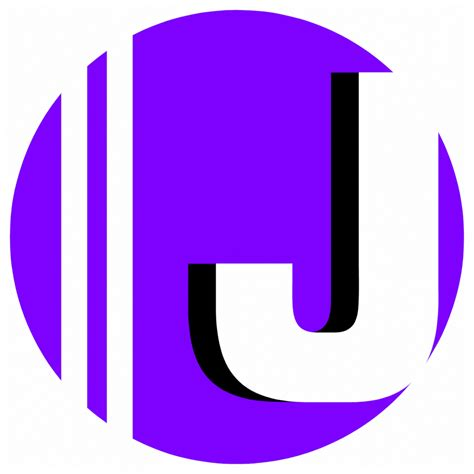 The gallery for --> J Letter Purple J