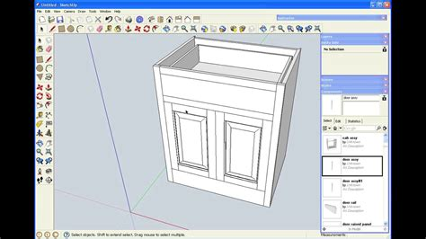 sketchup for woodworkers popular woodworking magazine shopclass sketchup for