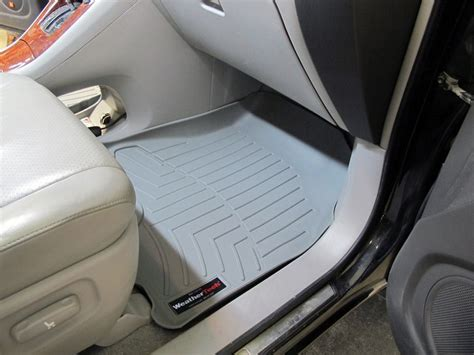 2005 Toyota Highlander Floor Mats by 2007 Toyota Highlander Floor Mats Weathertech