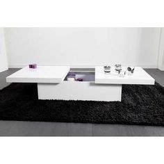Table Basse Blanche 851 by Table Basse Rectangulaire Longueur 120cm Avec Plateau