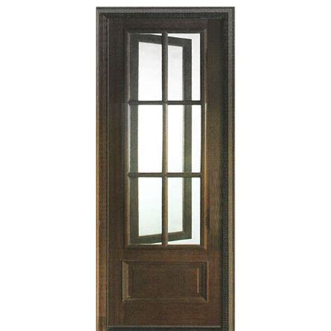 Dsa Doors Breezeport Tdl 6lt E 01l Breezeport 6 Lite Tdl Exterior Doors With Screens And Windows