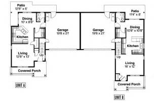 Duplex Floor Plans With Garage by Country House Plans Waycross 60 018 Associated Designs