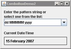 format date using java formatting string symbols for simpledateformat date