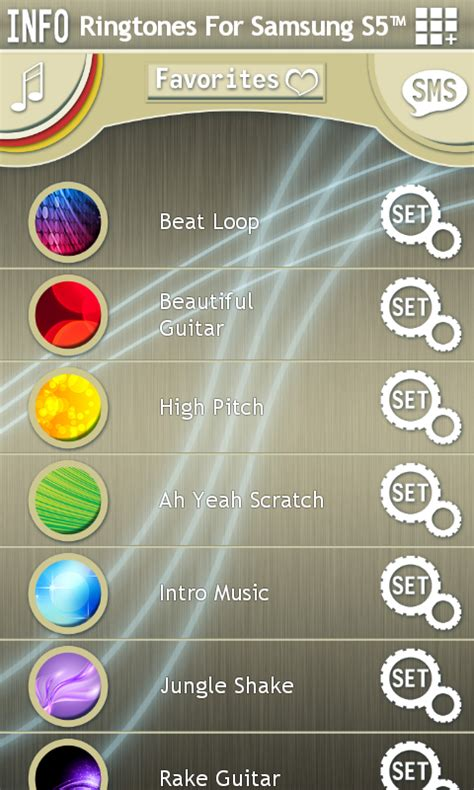 free ringtone app for android ringtones for samsung s5 free app android freeware