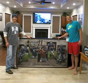 rob gronkowski house bro power painting keeps it all in the family for rob