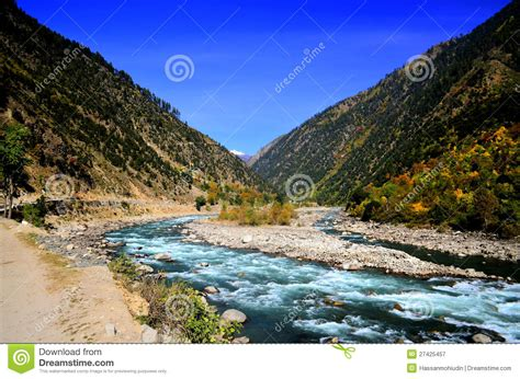 Landscape Pictures Of Kashmir Landscape Of Neelum Valley Kashmir Pakistan Royalty Free