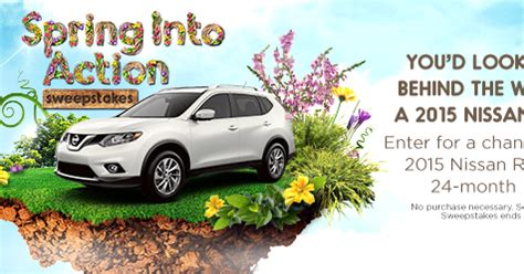 Nissan Rogue Sweepstakes - 2015 nissan rogue 24 month lease sweepstakes sweeps by shop your way