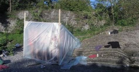 how to make a sweat lodge in your backyard makeshift sweat lodge by the lake these are fairly easy