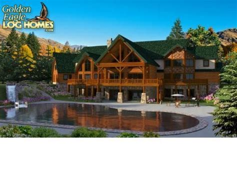 wow log cabins floor plans and prices new home plans design log cabin mansion wow golden eagle log homes floor plan