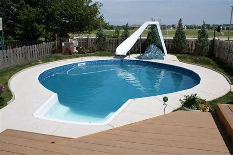 home pool water slide for home pool pool design ideas