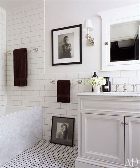 Classic White Bathroom Design And Ideas Classic Black And White Bathroom Updating Your Bathroom White Bathrooms Tile