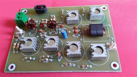 transistor hf lifier kit new kit jbot hf linear lifer