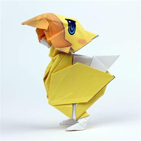 Chocobo Origami - crea gli origami di cactus chocobo e tama
