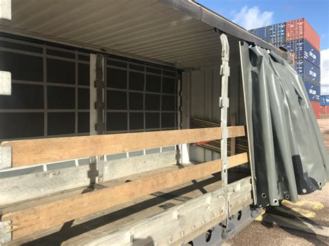curtain sided containers for sale 45ft hc pallet wide curtain side container cbox