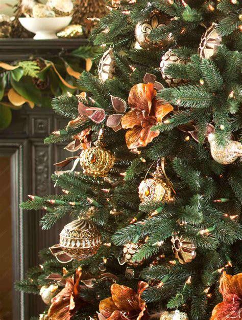aspen estate fir with gramercy park ornaments