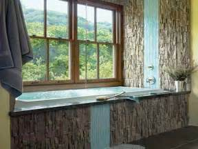 Bathroom Curtain Ideas For Windows by Bathroom Bathroom Window Treatments Ideas With Rustic Style