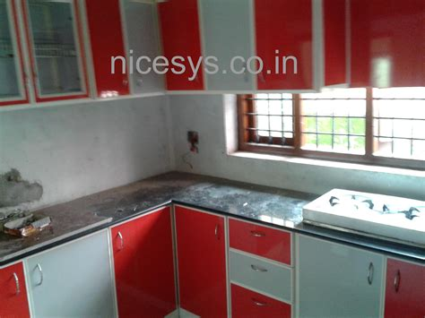 aluminum kitchen cabinets aluminum kitchen cabinet balcony covering with glass
