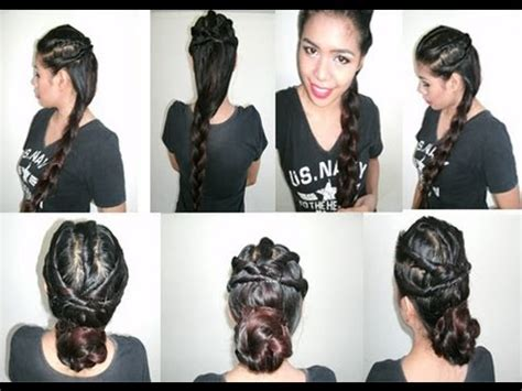 hairstyles for long hair no heat back to school party hairstyle to elegant prom wedding