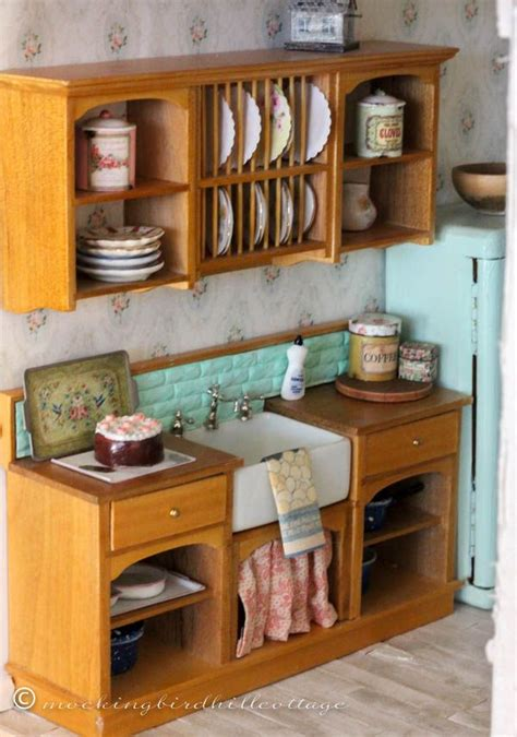 Dolls House Kitchen Furniture Best 25 Dollhouse Furniture Ideas On Pinterest