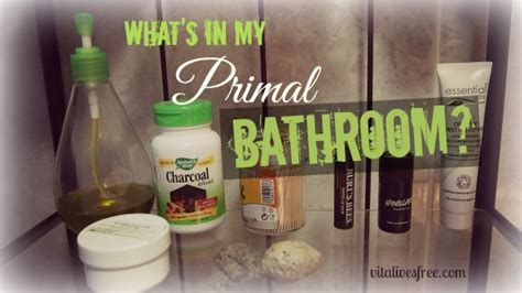whats in my bathroom what s in my primal bathroom paleo hygiene and beauty