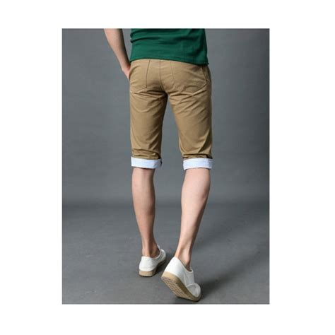 Celana Pendek Korea Pria Casual Garis celana pendek pria cp034 pfp store