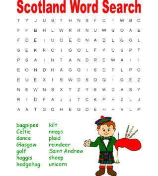 Scotlands Free Search Scotland Word Search Puzzle Culture Words Search And Word Search Puzzles