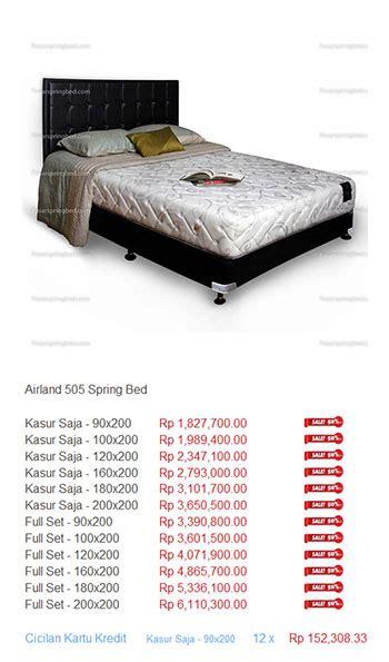 Matras Airland harga airland bed harga bed termurah di