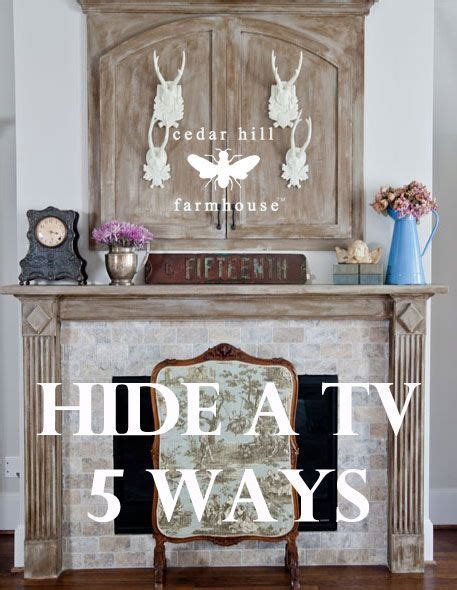 Pop Up Tv That Hides In The Fireplace by 17 Best Ideas About Hide Tv On Tv Tv