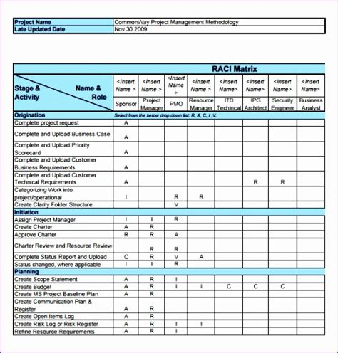 10 Raci Template Excel Free Exceltemplates Exceltemplates Microsoft Excel Raci Template