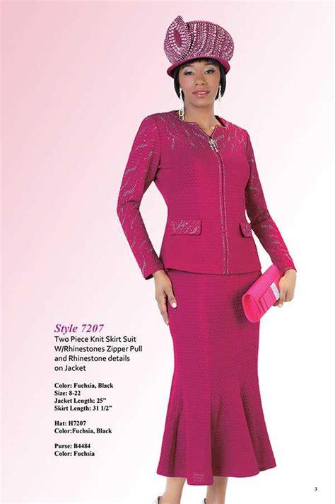 liorah knits liorah knits 7207 fuchsia womens knit suits