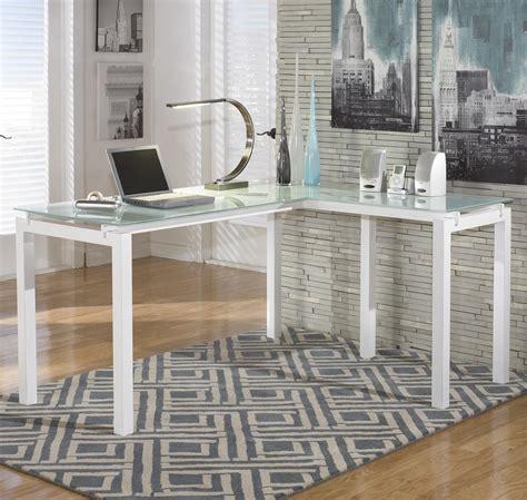 ashley furniture white desk signature design by ashley baraga h410 24 white finish