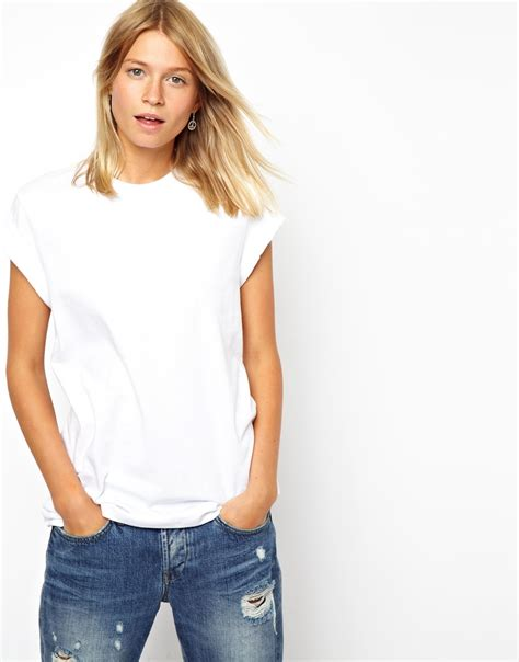design free asos t shirt asos the ultimate easy t shirt in white lyst