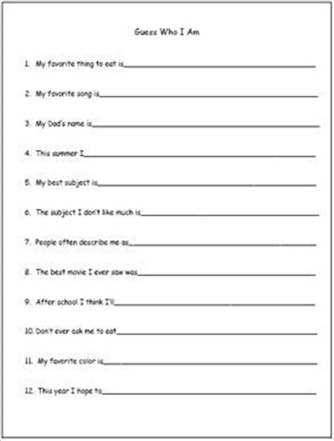 free printable handwriting worksheets for middle school students a free printable worksheet for back to school goals