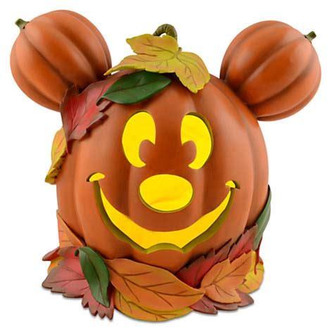 disney big figure statue mickey mouse pumpkin