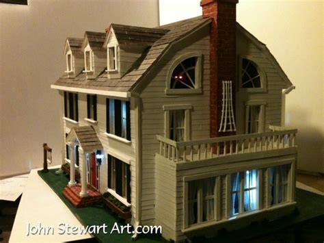the amityville horror house the amityville horror house scale model by johnstewartart on deviantart