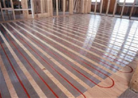 Geothermal Radiant Floor by Geothermal Heating And Cooling Systems The Added Benefits For Installing Geothermal Heat Systems