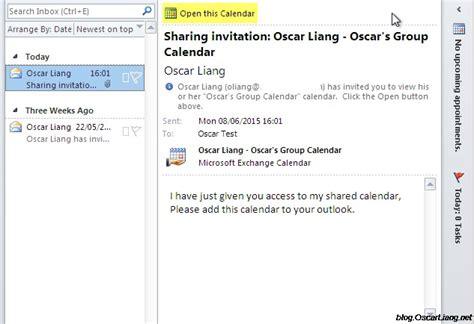 Create A Shared Calendar In Outlook Create And Calenders In Microsoft Outlook Oscar Liang