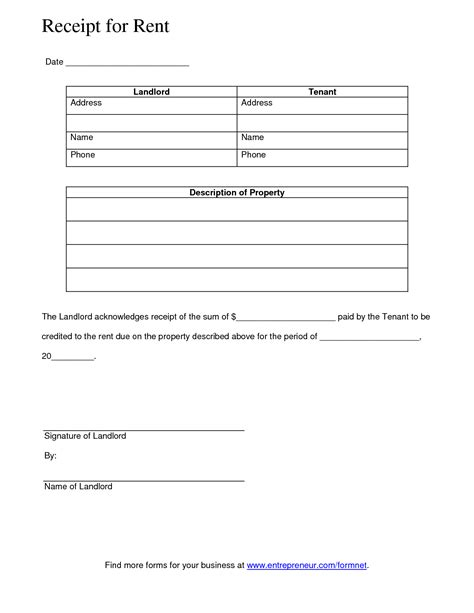 acknowledgement receipt template doc best photos of document receipt template sle eviction