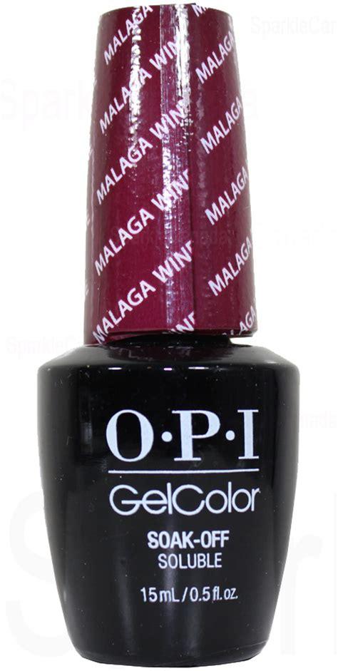 opi wine color opi gel color malaga wine by opi gel color gcl87