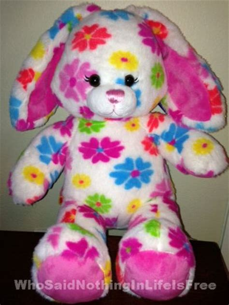 Build A Bear Gift Card Walgreens - build a bear flower fun bunny review 25 gift card giveaway who said nothing in