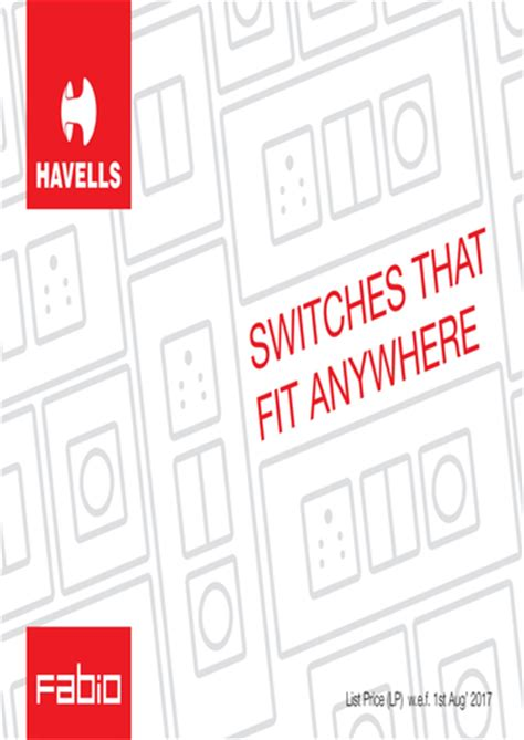 havells cable price list 2017 products brochures price lists havells india