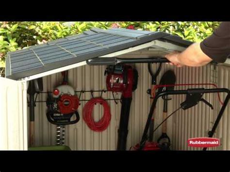 Rubbermaid Roughneck Shed Assembly by Roof And Floor Shed Plans