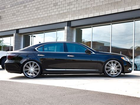 lexus ls custom 22 lexus ls 460 breden forged co3 staggered custom wheels