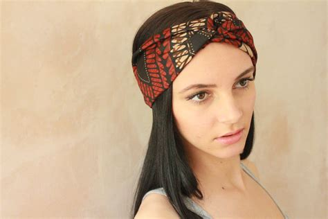 Bando Turban Bandana Headband 2in1 Twist workout headband turban headband headband turban twist exercise headband boho headband