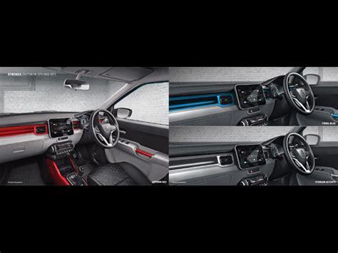 Suzuki Ignis List Cover Grill Depan Jsl Front Grille Cover Chrome maruti suzuki ignis accessories list drivespark news