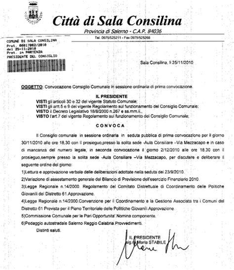 comune di sala consilina ufficio anagrafe comune di sala consilina 187 2010 187 novembre