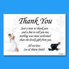 Thank you poems for you to use in your thank you cards